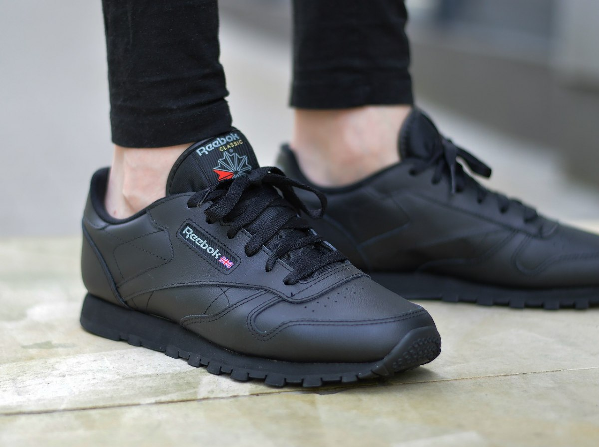 Mens All Leather Tennis Shoes